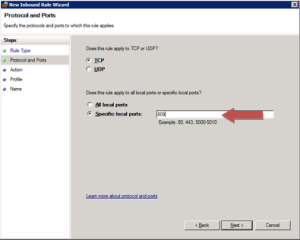 Windows Firewall Port Rule for Office Web Apps communication