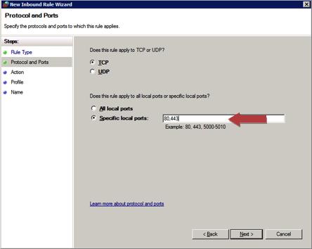 Configuring The Windows Firewall For Sharepoint Farm Traffic Steve