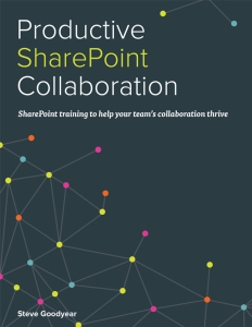 Productive SharePoint Collaboration book cover