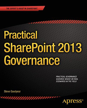 Practical SharePoint 2013 Governance book cover