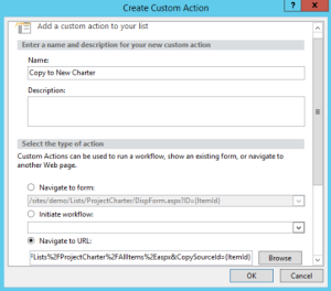 Custom-Action